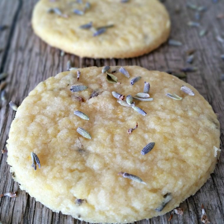 Simply Sophisticated Cooking | Lavender and Lemon Shortbread Cookies